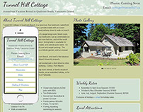 Tunnel Hill Cottage Responsive Website