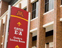 University of Minnesota - Wayfinding Graphics