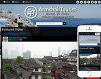 ArmchairTourist.com Website Design & Development