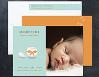Minted Design Challenge: Birth Announcement