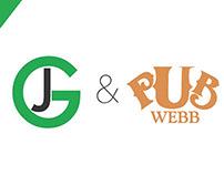 """""""Pub Webb"""" Social Media re-branding"""