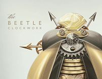 the BEETLE CLOCKWORK