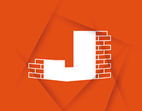 Jedar alwajhat co. Logos - شعارات لشركة جدار الواجهات