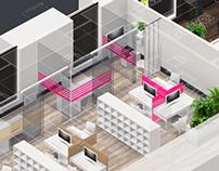 Descartes Groupe office design project