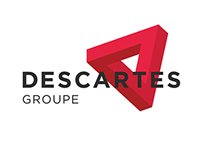 Descartes groupe logotype and brand identity