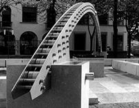 Monument to Gaetano Marzotto - Valdagno (Vicenza) 1995