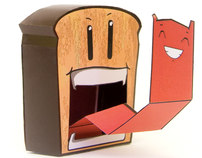 Papertoy Monsters Book by Workman Publishing