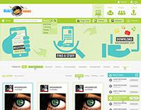Mobile Toones Website