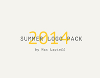 Summer logo pack 2014