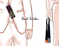 Paul smith fashion accessories concept design