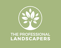 The Professional Landscapers Logo & Website Design