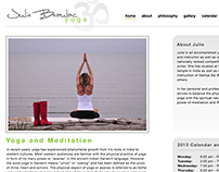 Yoga Website and Branding