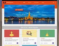 Bangkok.com: a Material redesign