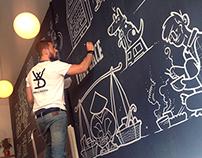 Chalk Mural - Pho91