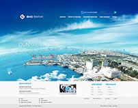 Bicbank Web Layout