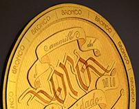 - Oro - Bronco - Tributo Ilustrado Al Más Gande -