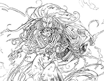 X-Men Storm | Drawing