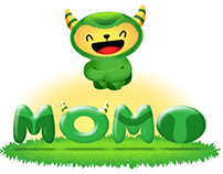 MOMO STICKERS FACEBOOK MESSENGER