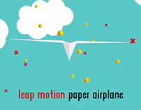 Leap Motion Paper Airplane V1