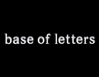 Base of letters
