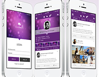 Connect-i App Design Concept