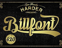 Billfont Typeface