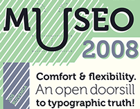 Museo Typeface Poster Set