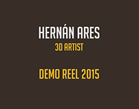 Hernán Ares - Demo Reel 2015