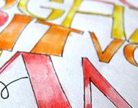 Letras Dibujadas | Alfabetos