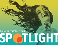 Music Center Spotlight Promotional Materials
