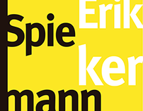 Libro Maestro Tipógrafo Erik Spiekermann (2014)