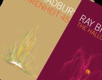 [PRINT] Ray Bradbury - Book Cover Designs