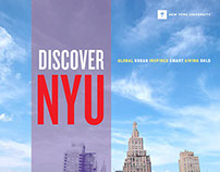 """Discover NYU"" Viewbook for New York University"