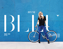 INTO THE BLEU / Campaign