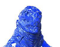 SciFi robot Sculpt