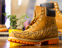 Hand Lettering X Timberland X Convite