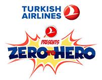 Turkish Airlines - Zero To Hero Infographic