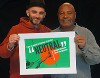 If You Are Neutral (poster with Emory Douglas)