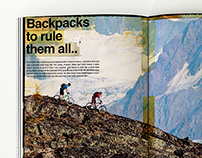 Dakine backpacks magazine spreads