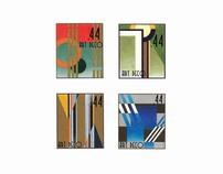 Art Deco Stamps