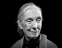 Jane Goodall-  primatologist and UN Messenger of Peace
