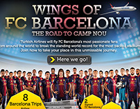 Turkish Airlines - Wings of FC Barcelona Facebook App