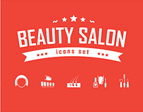 Beauty Salon Icons