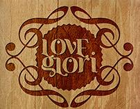 LoveGlori EP cover design