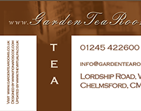 Garden Tea Rooms website