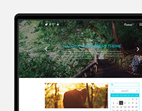 Natura | Clean WordPress Theme (WIP)