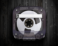 Cassette iOS Icon