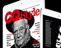 GQ Sty;e Digital Edition