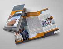 Company Brochure Tri-Fold Template Vol.16
