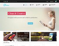 Glamo WordPress Theme